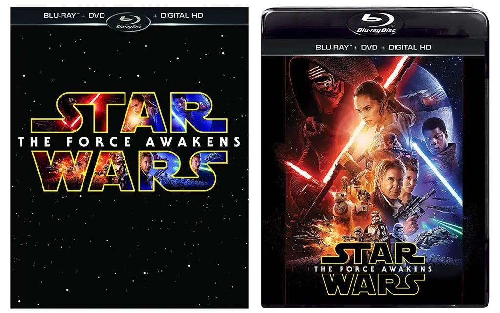 Force Awakens Dvd Cover
