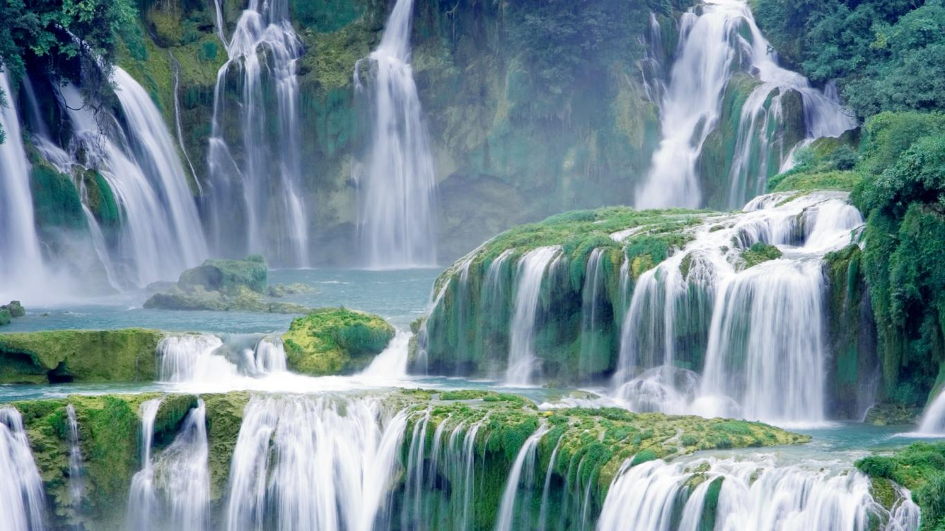 waterfall nature wallpapers free hd for desktop   HD Wallpaper waterfall nature wallpapers free hd for desktop