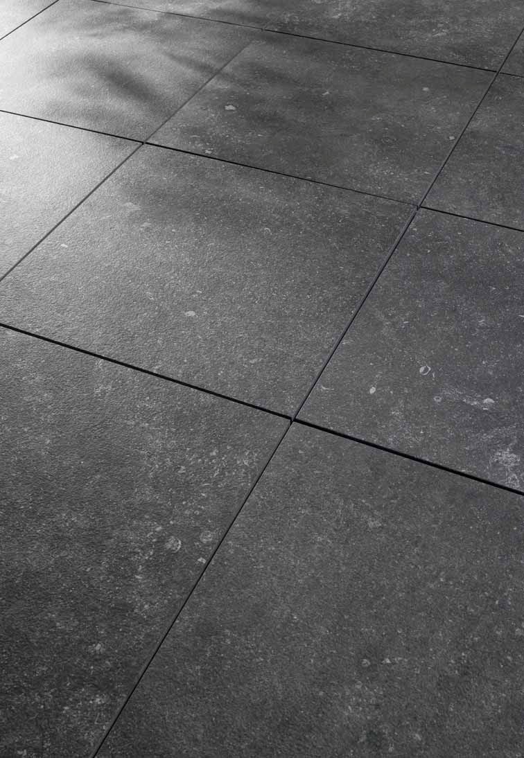 Hdg Pietra Stone Finish Pavers Charcoal Hdg Building