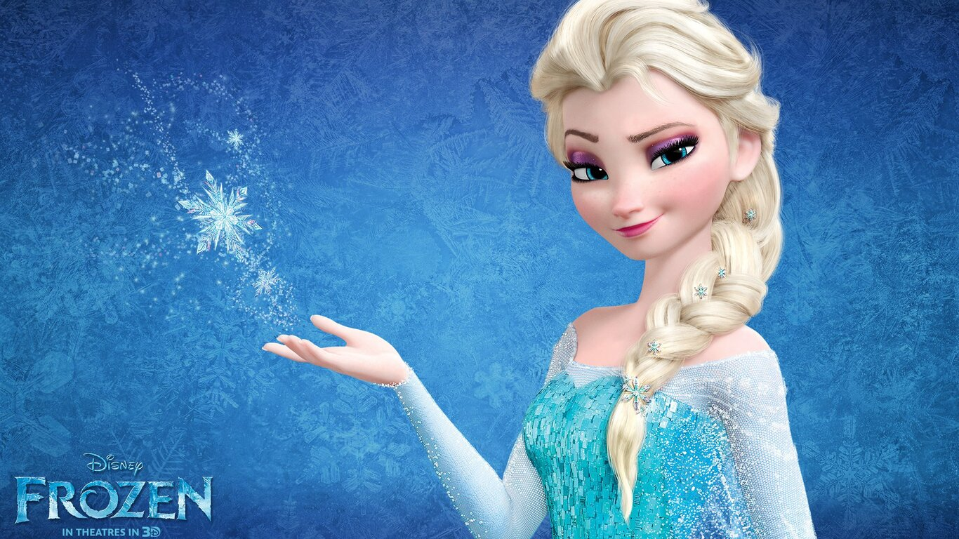 1366x768 Snow Queen Elsa In Frozen 1366x768 Resolution HD 4k     snow queen elsa in frozen jpg