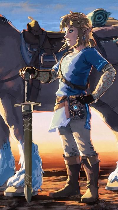 1080x1920 The Legend Of Zelda Artwork Iphone 7,6s,6 Plus ...