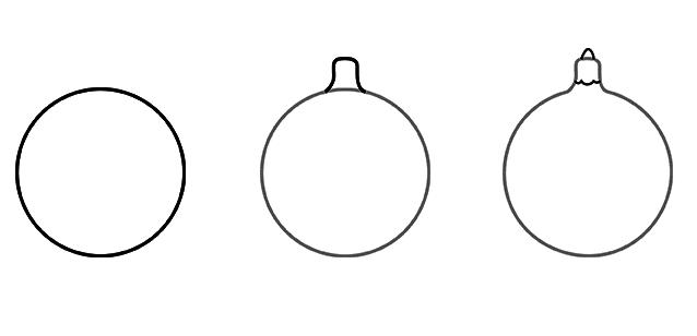 Рисуем круг и держатель