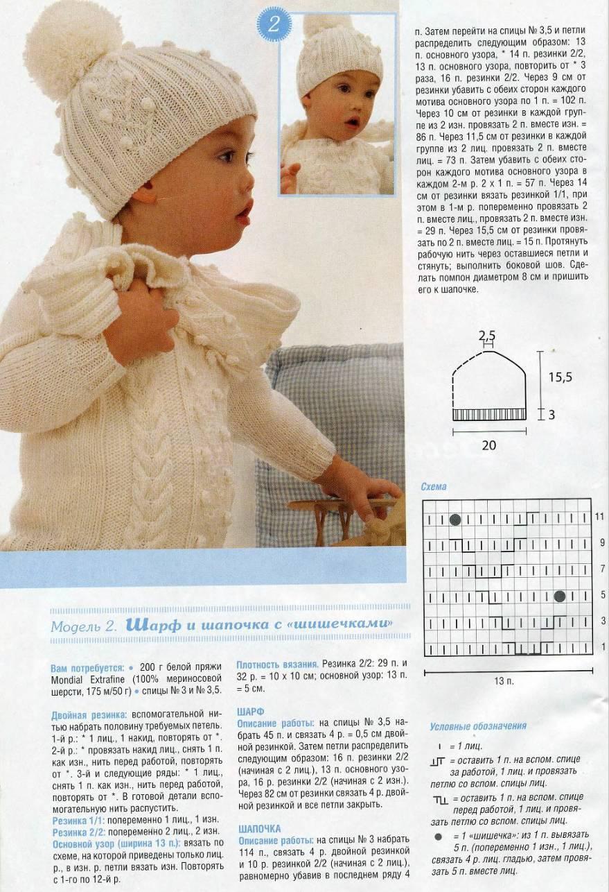 Capas de malha elegantes para uma menina, exemplo 2
