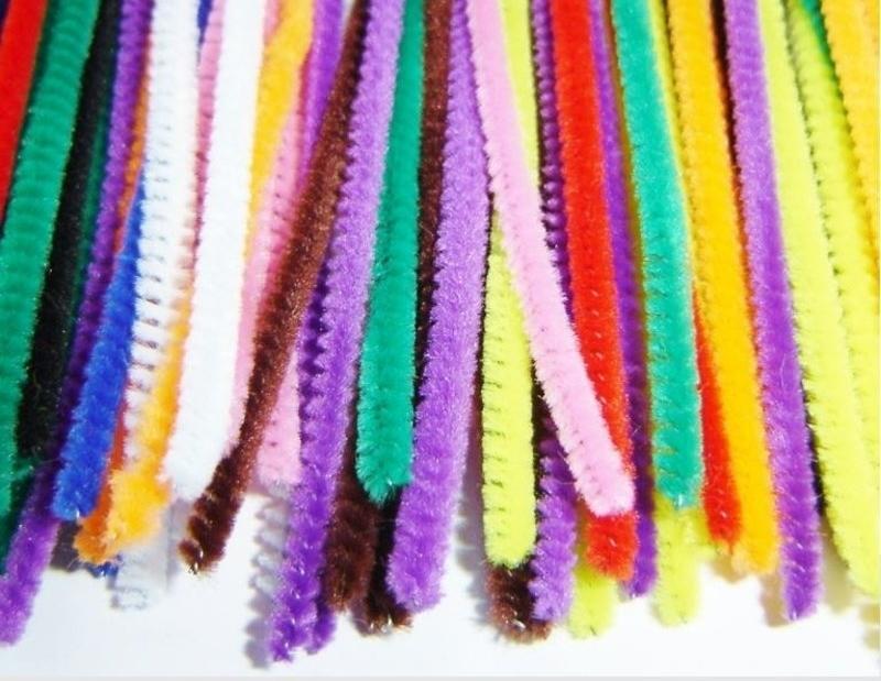 Гибкие разноцветные ершики для чистки курительных трубок