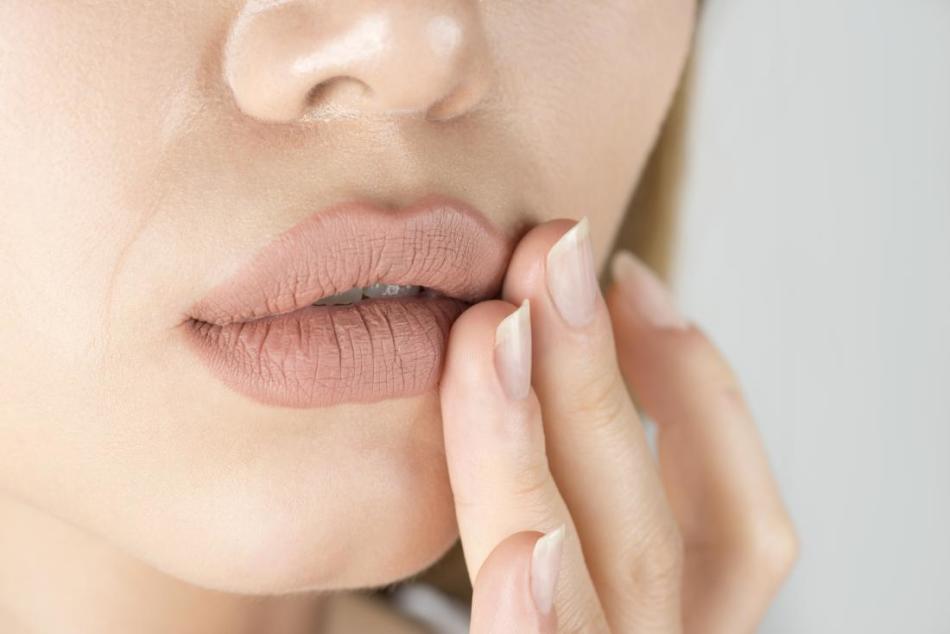 เหตุผลในการละเว้นมุมของริมฝีปาก