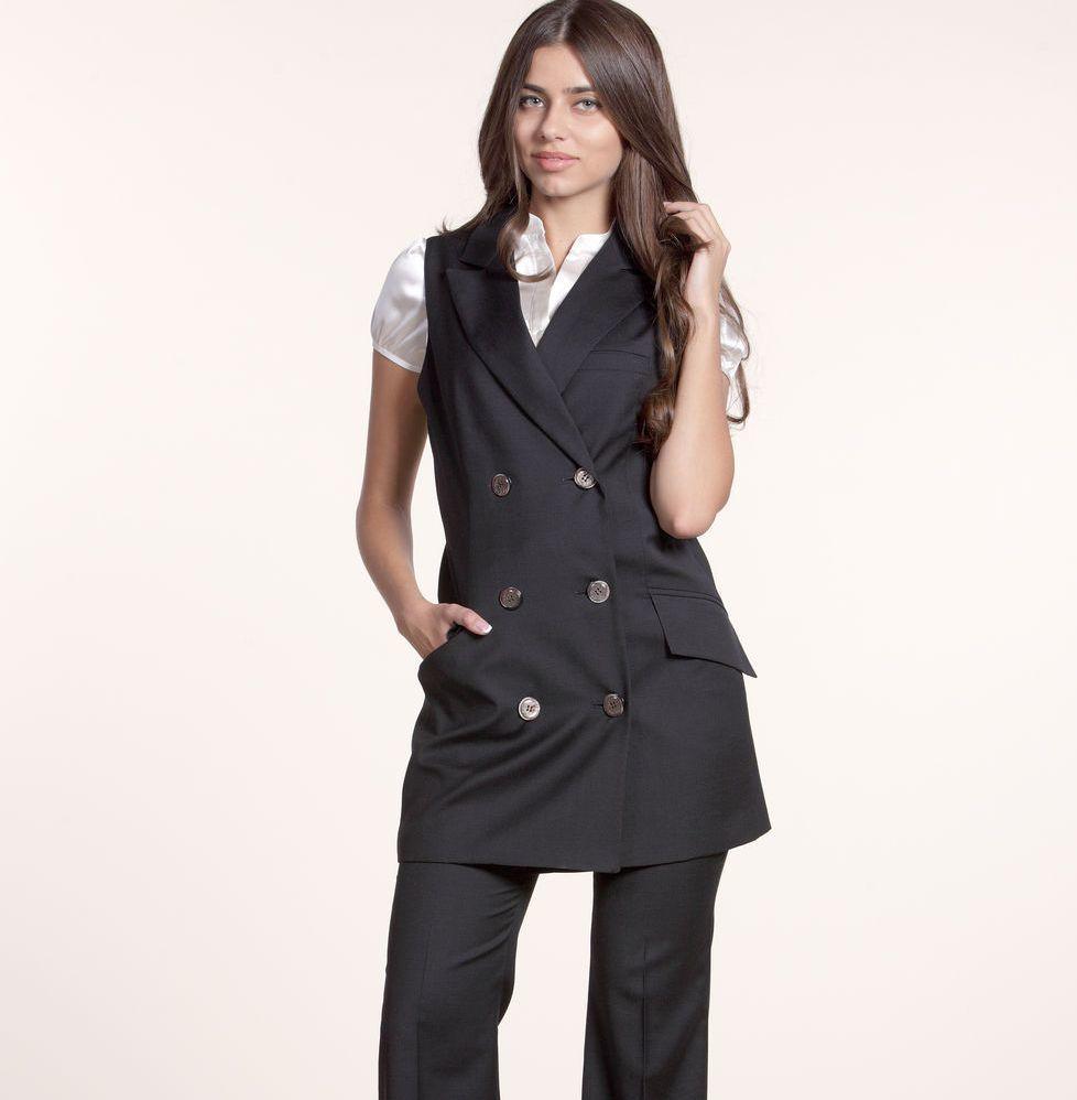 Әйелдер көлігі костюмдер мен джакард матадан жасалған созылған куртка: модельдер