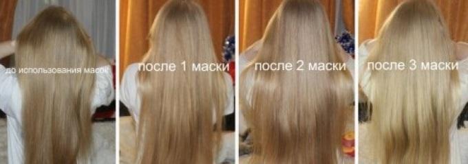 Осветление волос корицей до и после 3-кратного применения
