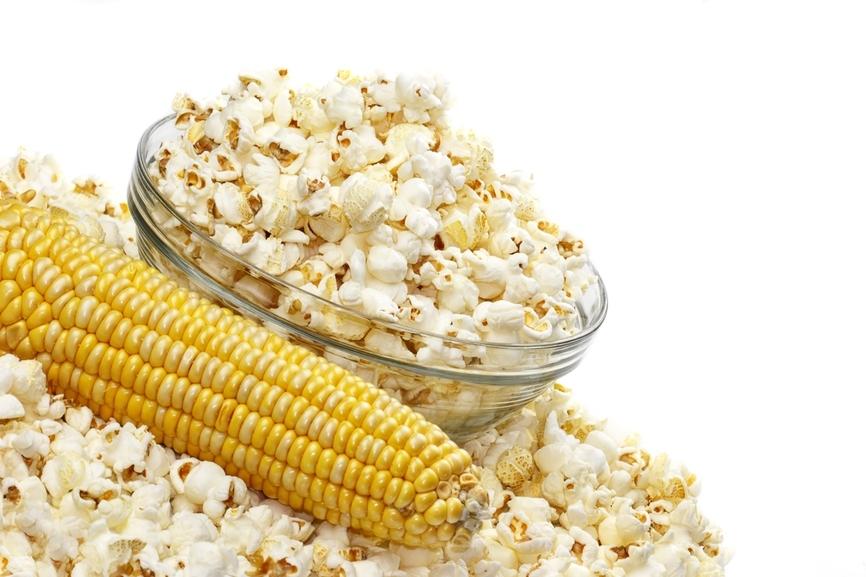 Соленый попкорн в домашних условиях