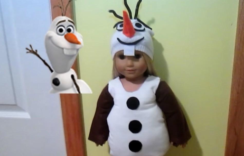 Костюм олафа или костюм снеговика
