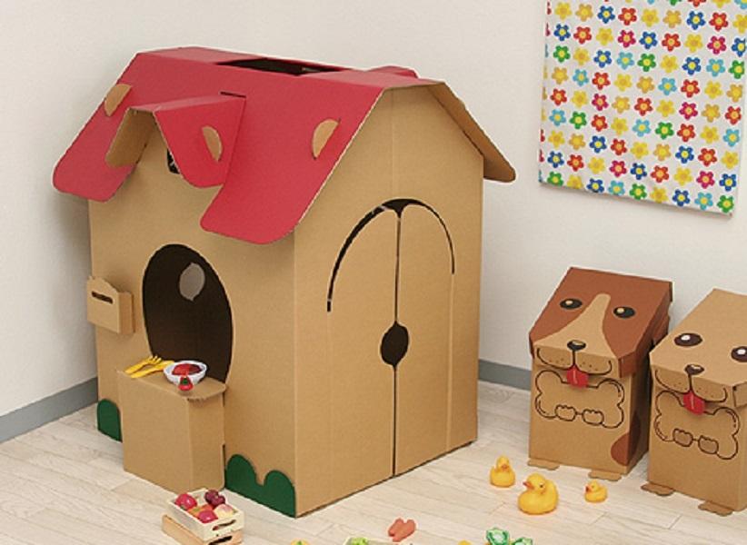 Kartonházak kutyáknak