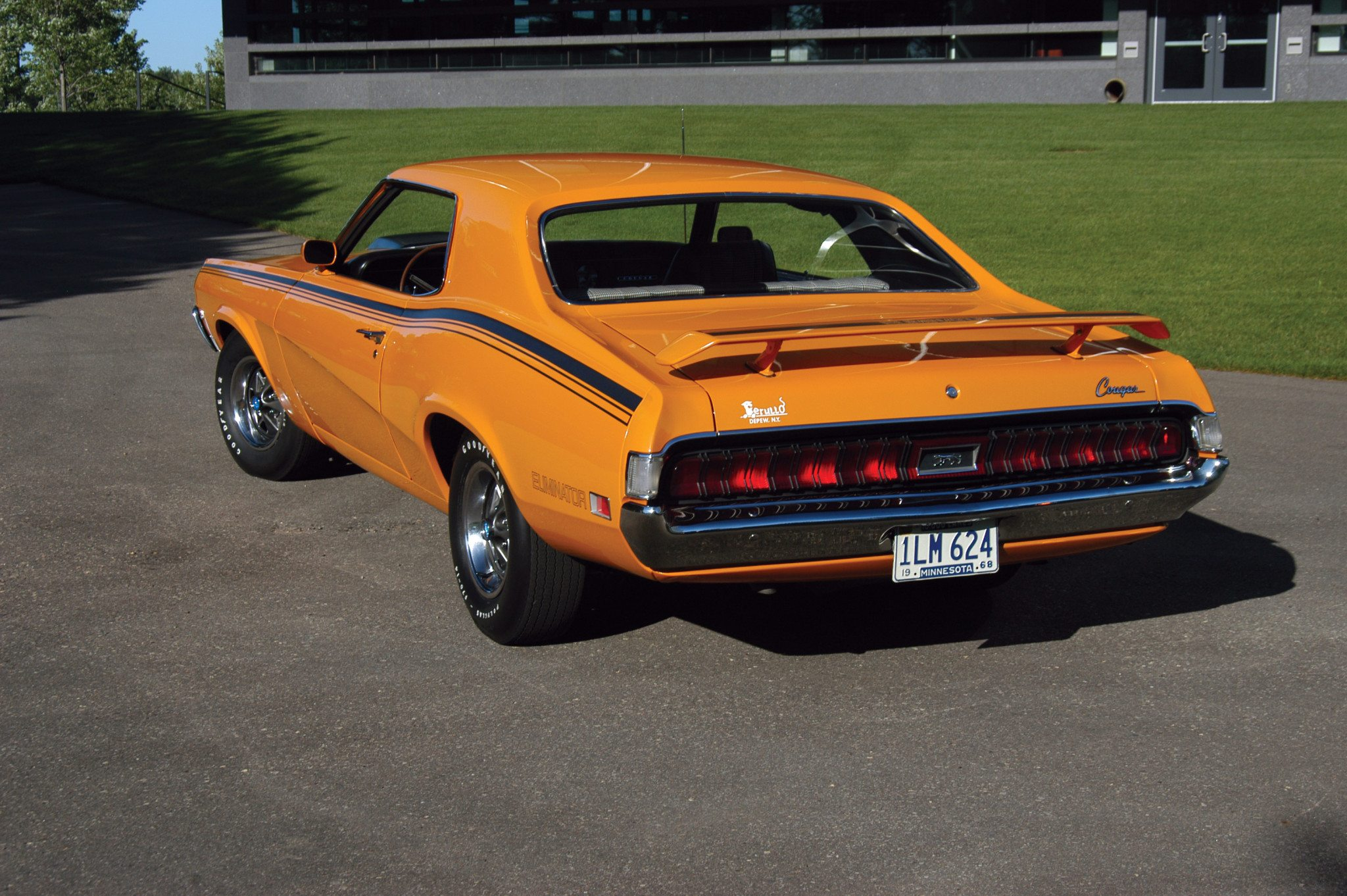 The 1970 Mercury Cougar Eliminator Was a Classy Mach One Mustang     Competition Gold was one of six colors available in 1970 for the  Eliminator  Vinyl tops were not offered on Eliminators