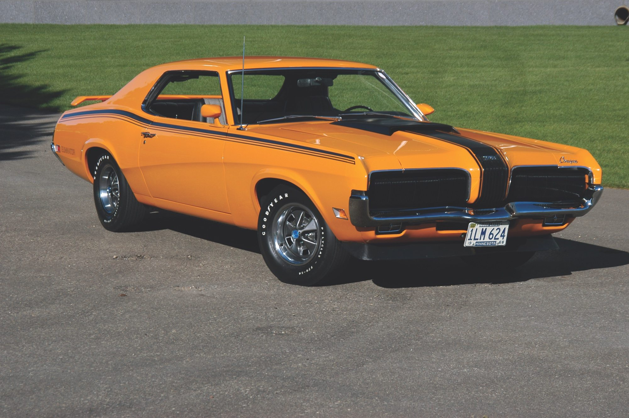The 1970 Mercury Cougar Eliminator Was a Classy Mach One Mustang     1970 Mercury Cougar Eliminator Muscle Car