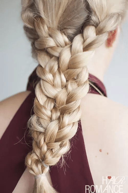 30 Beautiful Braids for Long Hair Give this dramatic  easy triple braid a go if you re running out of ways to  style your long tresses  Rock this  do with pair of denim jeans and a  simple tee