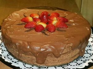 Cake Mousse de Chocolate