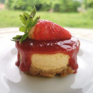 Mini Cheesecake Fresa