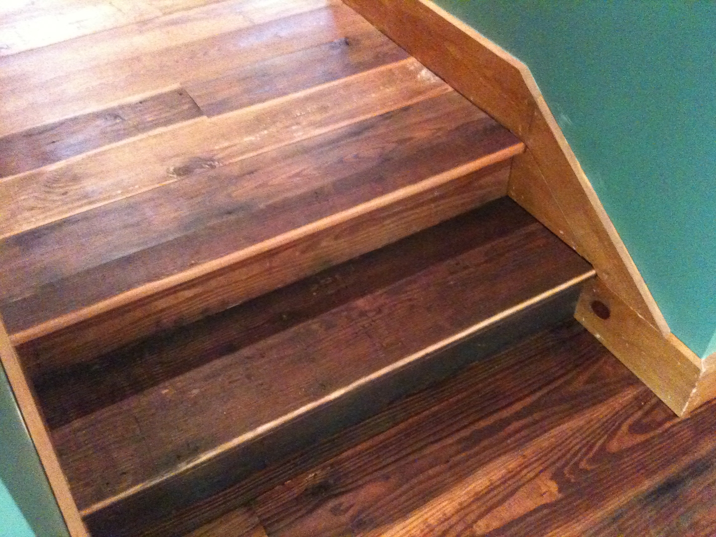 Flooring Stair Treads Hearthwoods | Staining Pine Stair Treads | Painting | White Pine | Wooden | Tile | Stained White Oak