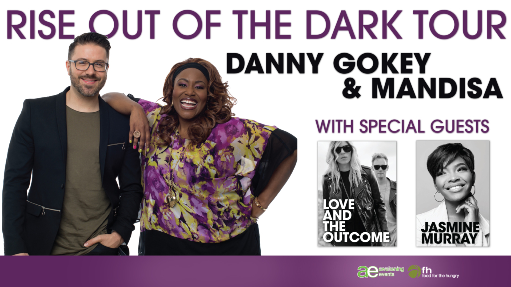 Rise Out of the Dark Tour - Mandisa & Danny Gokey