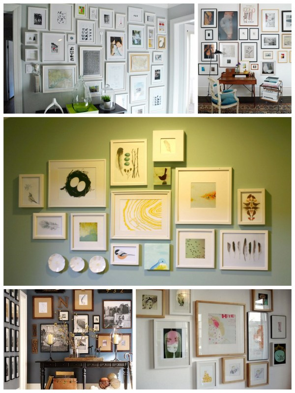 ikea ribba gallery wall layout # 37