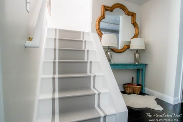 Quot Stop And Stare Quot A Painted Stairs Tutorial The