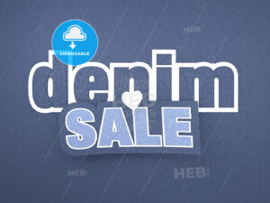 Denim Sale Banner - Hebstreits