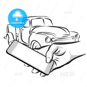 Car Rental Service via Cellphone App - HEBSTREIT's Sketches