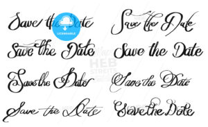 Save the Date various written Quotes - Hebstreits