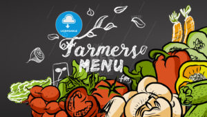 Farmers Menu Vegetables and Doodles - Hebstreits