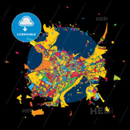 Tallinn, Estonia, Colorful Artmap