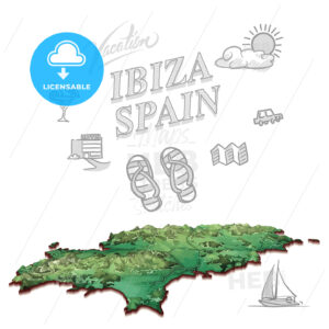 Ibiza, Spain, travel marketing cover - HEBSTREITS