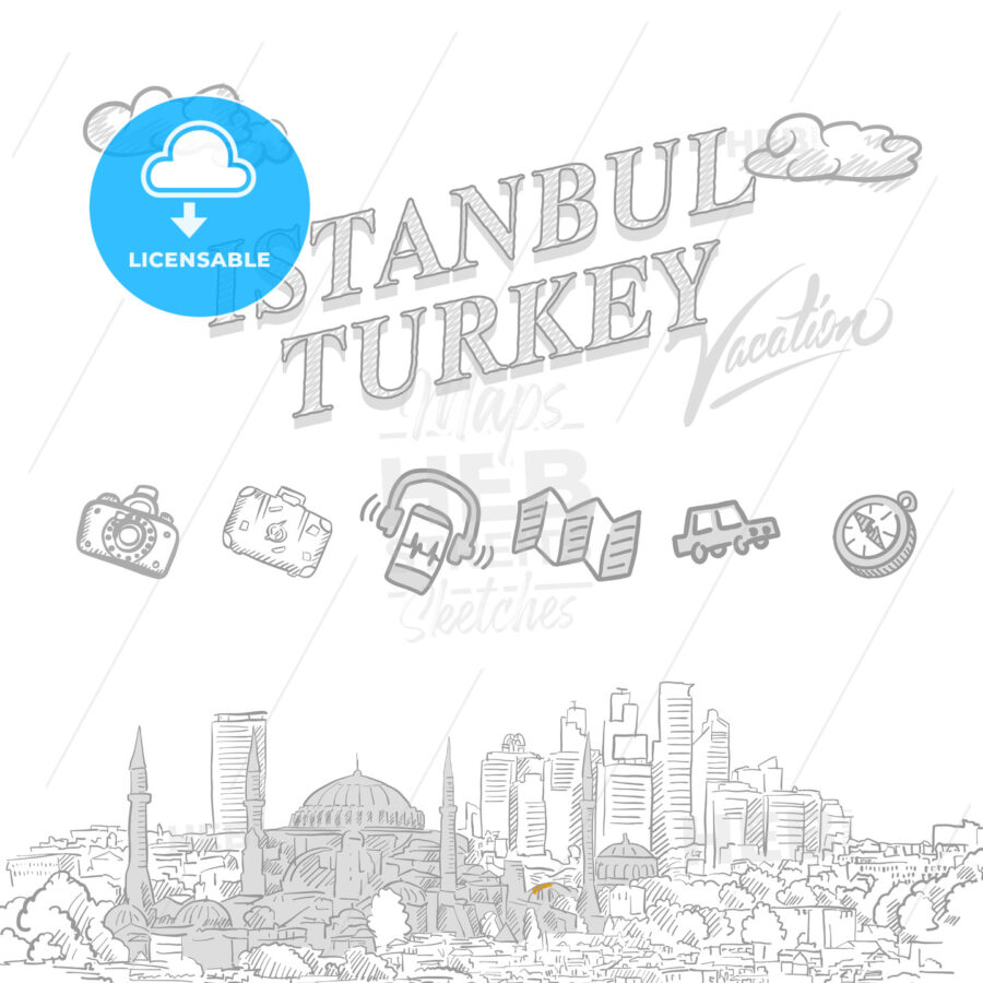 Istanbul travel marketing cover - HEBSTREITS