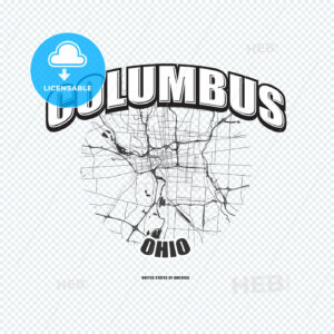 Columbus, Ohio, logo artwork - HEBSTREITS