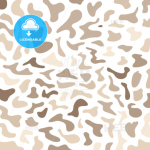 Hand-drawn camouflage wallpaper pattern - HEBSTREITS