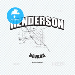 Henderson, Nevada, logo artwork - HEBSTREITS