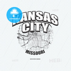 Kansas City, Missouri, logo artwork - HEBSTREITS