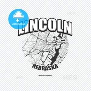 Lincoln, Nebraska, logo artwork - HEBSTREITS