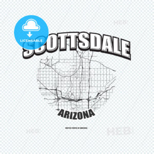 Scottsdale, Arizona, logo artwork - HEBSTREITS