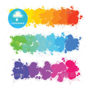 colorful color splashes gradients - HEBSTREITS