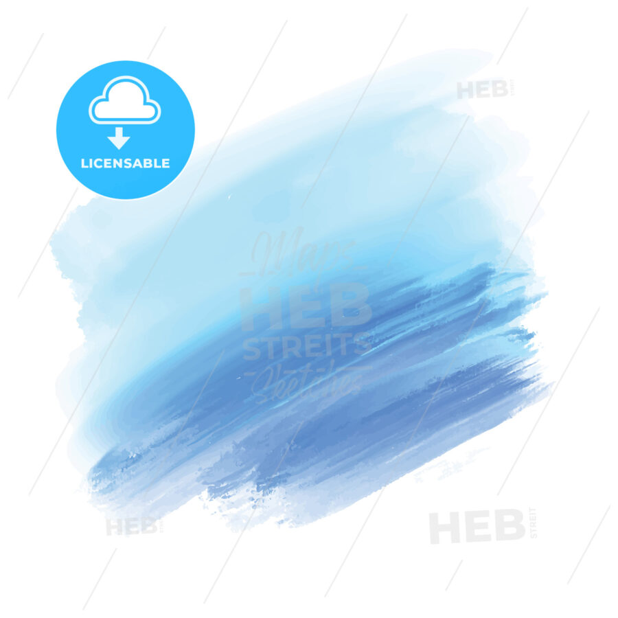 light blue and blue watercolor background - HEBSTREITS