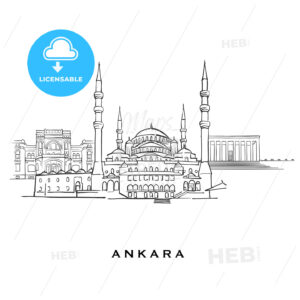 Ankara Turkey famous architecture - HEBSTREITS