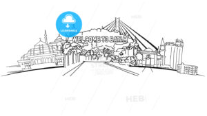 Batam Indonesia Panorama Banner - HEBSTREITS