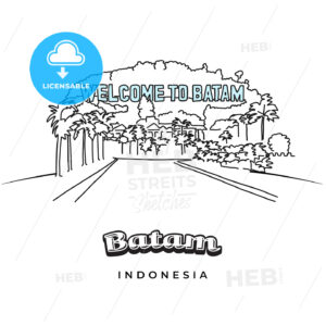 Batam greeting card design - HEBSTREITS