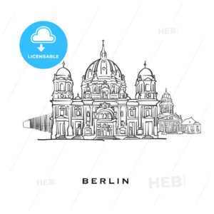 Berlin Germany famous architecture - HEBSTREITS