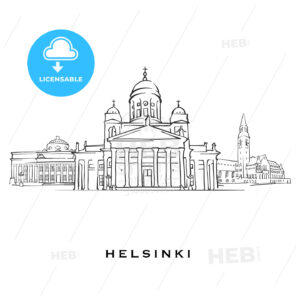 Helsinki Finland famous architecture - HEBSTREITS