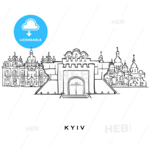 Kyiv Ukraine famous architecture - HEBSTREITS