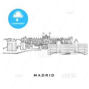 Madrid Spain famous architecture - HEBSTREITS