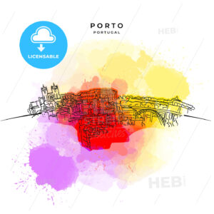 On the roofs of Porto - HEBSTREITS