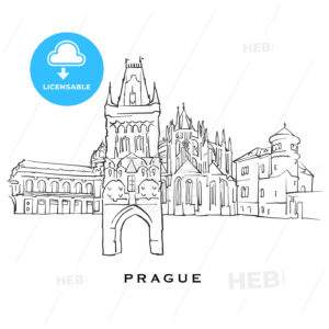 Prague Czech Republic famous architecture - HEBSTREITS