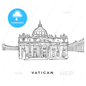Vatican famous architecture - HEBSTREITS