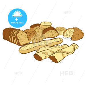 Set of breads - HEBSTREITS