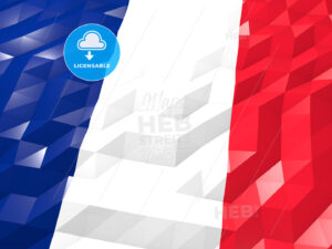 Flag of New Caledonia 3D Wallpaper Illustration - HEBSTREITS Sketches
